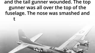 WW II bomber Spared by German Fighter Pilot A Truly Honorable Man