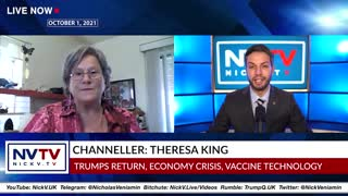 Theresa King Discusses Latest Updates with Nicholas Veniamin