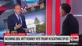Mitt Romney refuses to endorse Trump for 2020
