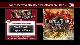 Attack on Titan 2 Final Battle - Features Trailer