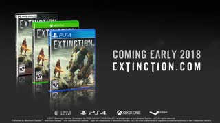 Extinction Official Gameplay Trailer