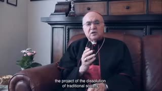 """A short clip from Archbishop Vigano claims that the pope is a """"zealous cooperator"""""""