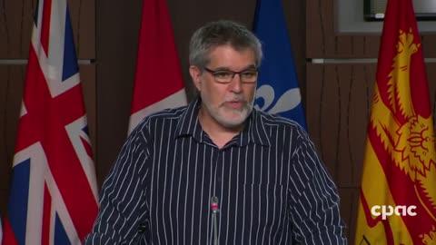 Dr Byram Bridle at Derek Sloans press conference – June 17, 2021