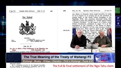 Counterspin 19 Part 2 - The True Meaning of the Treaty of Waitangi