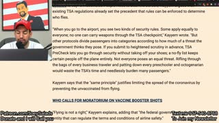 Former Obama Official Calls for 'No-Fly List' for Unvaccinated!