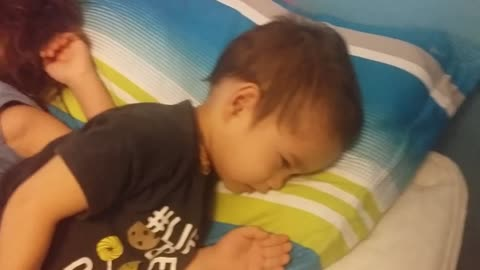 Little Brother Caught Sleeping With Older Brother (CUTE)