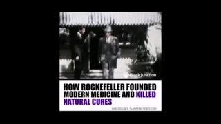 Brief History of the Pharmaceutical industry, Big Pharma, Rockefeller