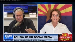 Senator Wendy Rogers on the War Room Responds to Dominion and County Obstruction