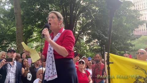 Mary Holland (CHD) spoke at NYC Unions For Choice Protest