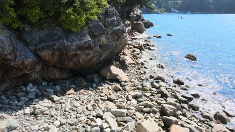 Calm Beach on a Summer day