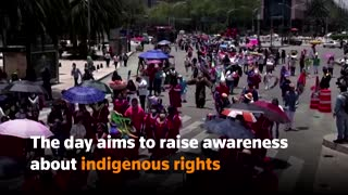 Mexico celebrates World's Indigenous Peoples Day