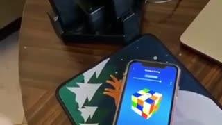 Smart Rubik's Cube