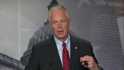 Senator Johnson at GOP Spending Press Conference on 7.21
