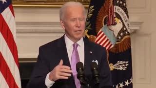 """""""Joe Biden"""" declares enough to vaccinate """"300"""" Americans"""