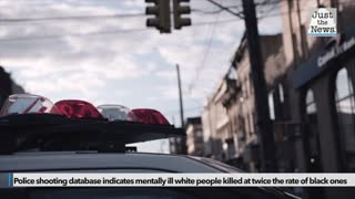 Police shooting database indicates mentally ill white people killed at twice the rate of black ones