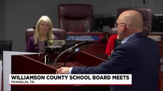 Williamson County Tennessee School Board Meeting