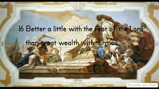 Trust The Lord Or Mammon - Proverbs 15:16