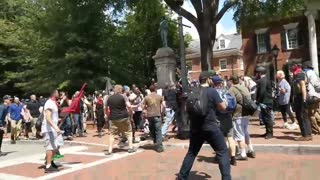 """Antifa thugs attack rallygoers at """"Unite the Right"""" rally in 2017"""