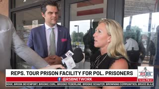 GOP REPS LOCKED OUT of Federal Prison Where Jan. 6 Prisoners Being Held!