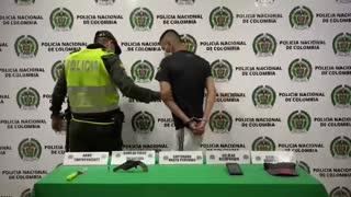 Alias 'Muelas' fue uno de los presuntos delincuentes a los que les quemaron la moto en Floridablanca