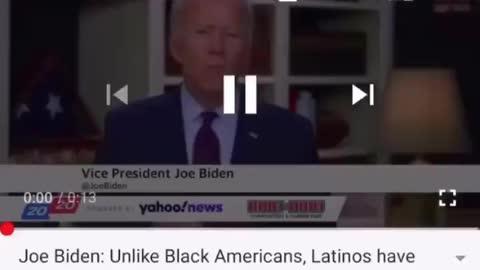 Biden's Blatant Bigotry