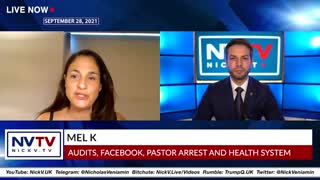 Mel K and Nicholas Veniamin 9-28-21