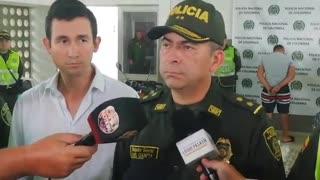 Más de cinco mil dosis de drogas fueron incautadas durante una persecución en Bucaramanga