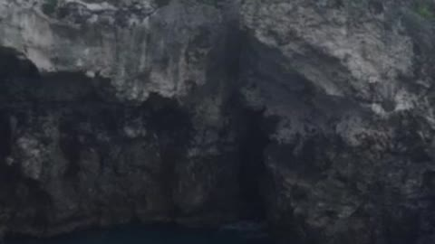Amazing cliff diving at Rick's Cafe, Jamaica