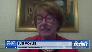 Susan Voyles Says Georgia's Fulton County Also Illegally Counted *TEST BALLOTS*❗