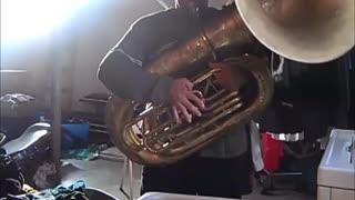 Happy birthday ( Tuba )