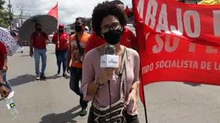 Marcha en Cartagena avanza hacia el Mercado de Bazurto