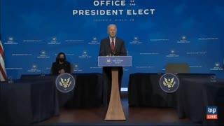 Bumbling Biden does it again