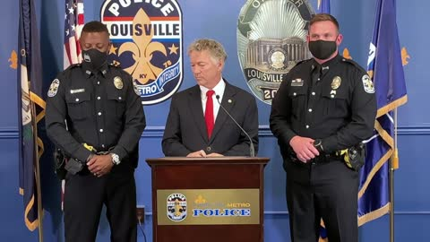 Dr. Paul Honors Louisville Metro Police Department
