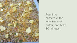 Venison Pepper Stuffing Casserole