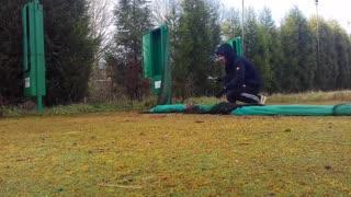 Man Saves Rabbit from Net