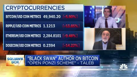 Why 'Black Swan' author Nassim Taleb calls bitcoin an 'open Ponzi scheme'