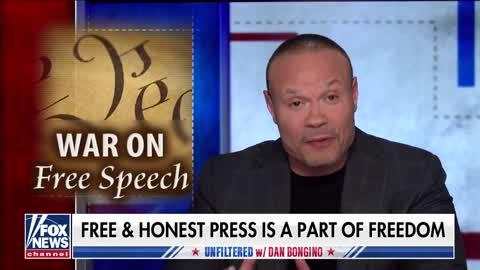 Dan Bongino: Biden Admin Is Trying To Crush Free Speech