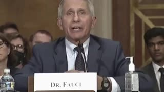 Dr. Fauci on gain of function research.