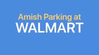 Amish Parking at Walmart