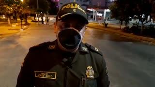 Comandante de la policía en el tercer distrito de Cartagena