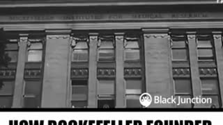 Did Rockefellers founded modern medicine and KILLED natural cures?