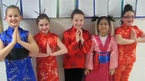 Konnichiwa at Smithtown Elementary School - Japan Day 2008
