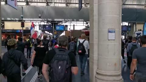 TRAVERSE DE GARE SANS PASS - FRANCE - 20210918