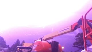 Lightning Strikes in Georgia