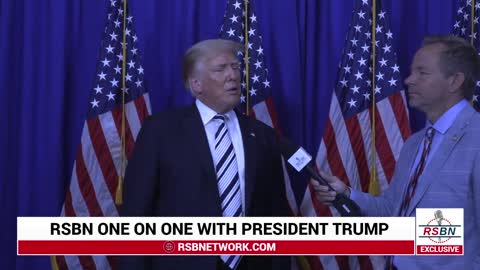 RSBN One On One With President Trump