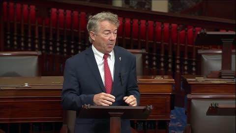 Senator Paul Addresses National Debt Crisis During Senate Floor Speech Part 1 - October 7, 2021