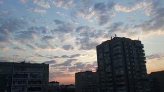 wonderful soft sunset