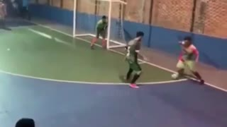 The dribbling king on the court