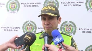 Riña que dejó 10 policía heridos en el estadio Alfonso López de Bucaramanga