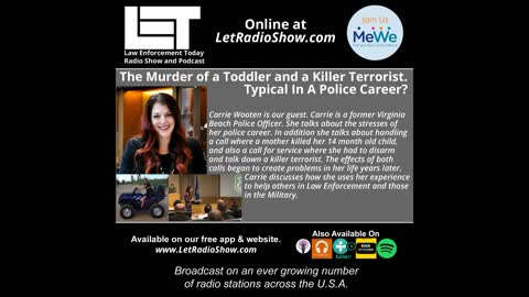 The Murder of a Toddler and Disarming a Killer Terrorist. Her Police Career?
